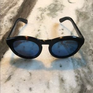 "DIFF ""Dime"" blue lens sunglasses!"